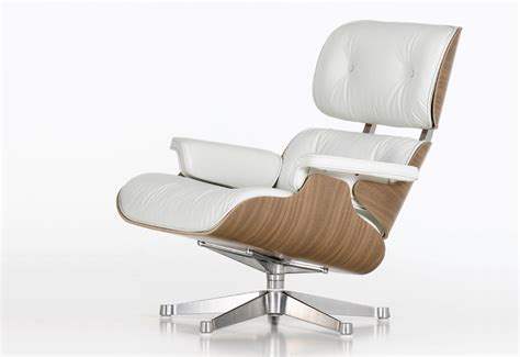 eames ottoman only eames 670 ottoman white designed by charles ray eames