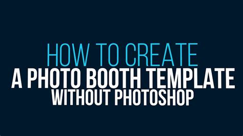 How To Create A Photo Booth Template Without Photoshop Photo Booth Templates Free Get Paddee Free Photo Booth Template Photoshop