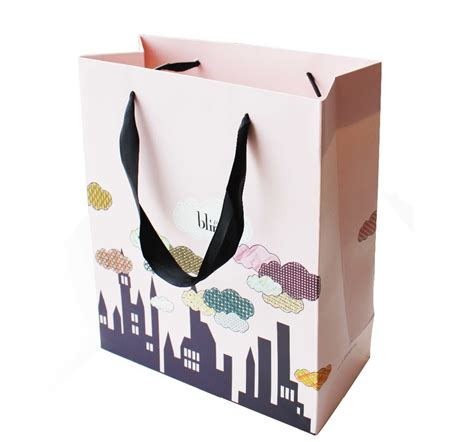 Paper Bag Fullcolor custom drawstring paper bag logo design buy drawstring