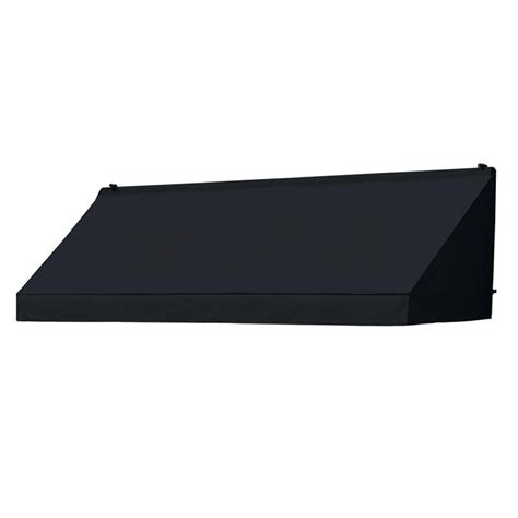 awnings in a box awnings in a box 8 ft classic awning replacement cover 26 5 in projection in ebony