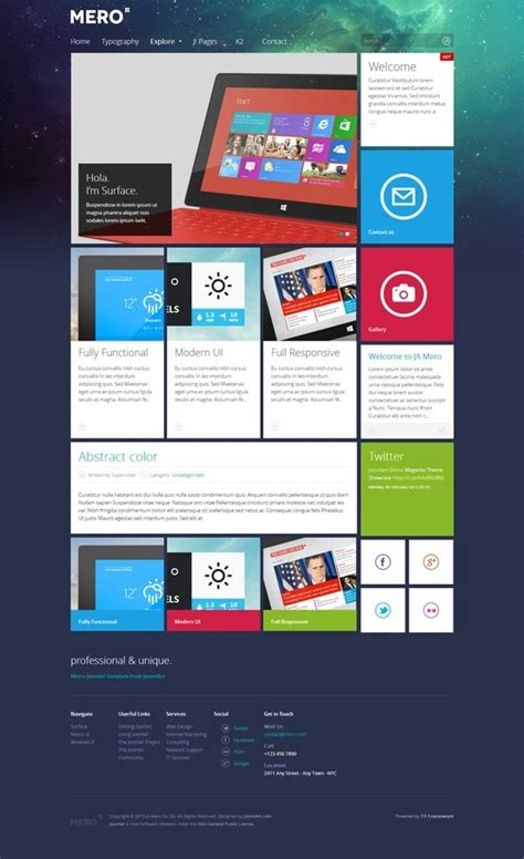 joomla 3 0 responsive templates 42 best joomla 3 0 responsive templates images on