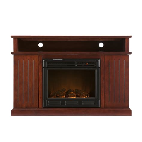 Electric Tv Fireplace Stand by Kingsbury Media Cherry Electric Fireplace Flat Screen Tv