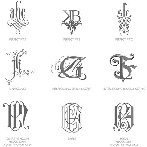 tattoo designs letters intertwined bell invito category c monograms are intricately