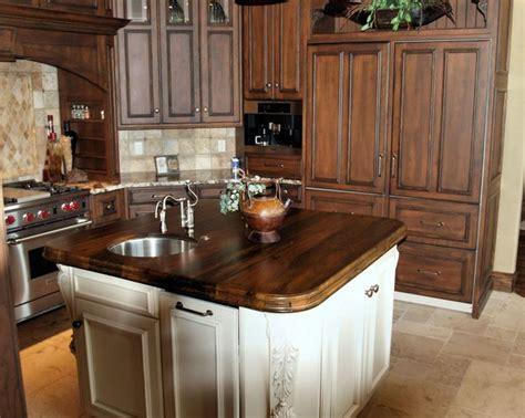 kitchen islands with butcher block tops spalted pecan custom wood countertops butcher block