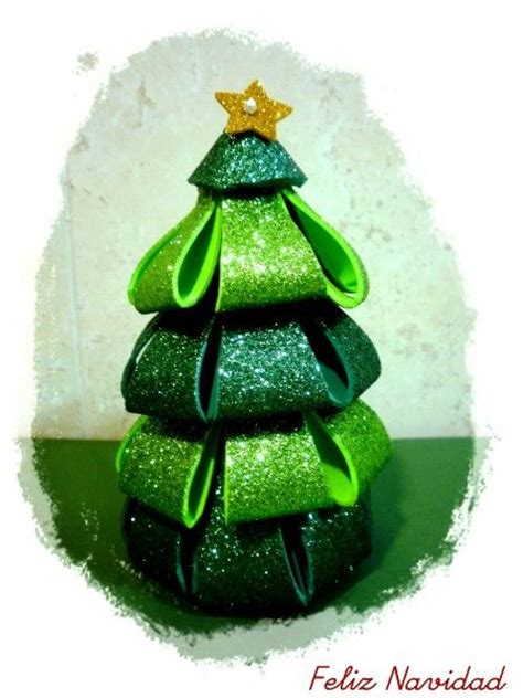 tutorial 225 rbol y bola de navidad de goma eva nadal