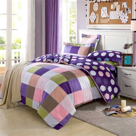 purple plaid comforter popular purple plaid comforter buy cheap purple plaid