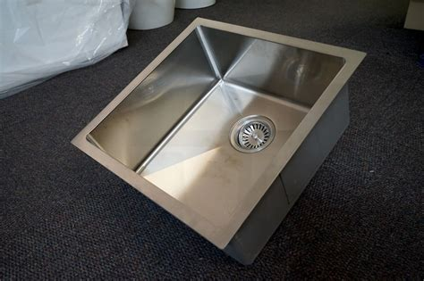 stainless steel sink 304 grade quad 450mm square handmade 304 stainless steel sink