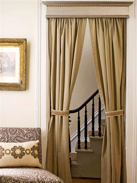 Bedroom Door Curtain Ideas Unique Ways Of Using Drapery Panels To Decorate Your Home