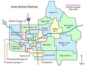 school district maps colorado springs colorado el paso
