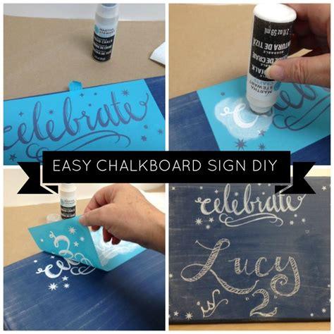 diy chalkboard martha stewart diy chalkboard sign with martha stewart crafts