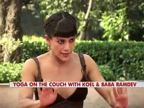 on the couch with koel baba ramdev exclusive on spirituality sexual desire fake