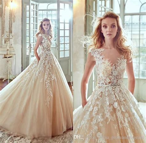 Cheap Wedding Dresses Uk by Cheap Chagne Wedding Dresses Wedding Ideas