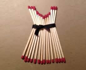 How To Make Decorative Items At Home Ideas On Decorating Your Home Decor With Matchsticks