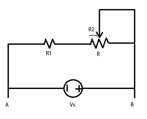 variable resistor circuit problem how do you solve thevenin equivalent for circuits with variable resistors electrical