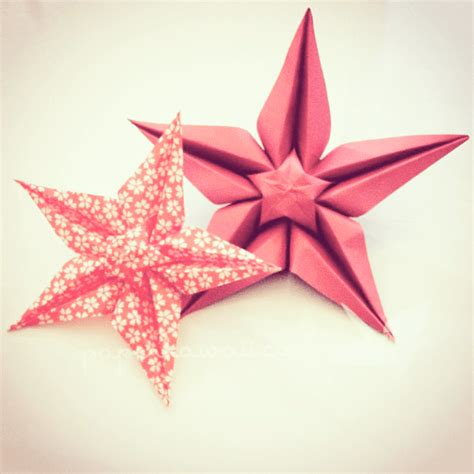 Tutorial Origami - origami flower tutorial paper kawaii