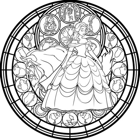 coloring book for adults stress relieving stained glass stained glass vector coloring page by akili