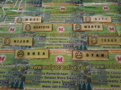 Magnet Name Tag Bulat Nama Dada Magnetic D17mm papan nama dada nama dada papan nama name tag papan nama magne pesan name tag lencana
