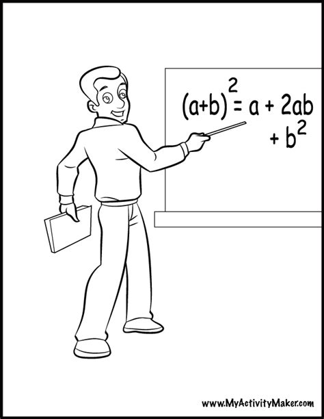 teacher printable coloring pages