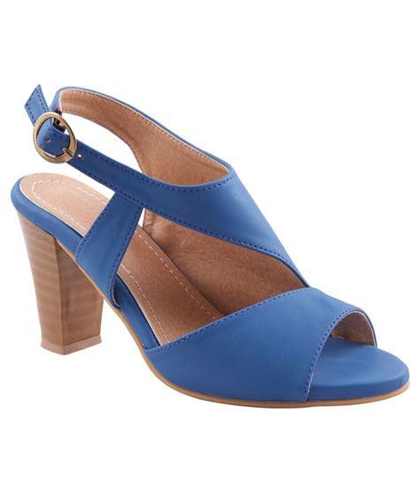 blue block heel sandals adorn blue block heel sandals price in india buy adorn