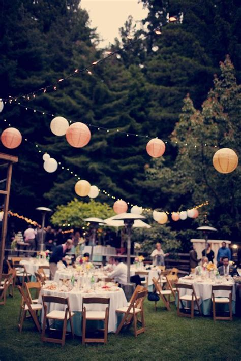 Outdoor Wedding Lights Decorations 20 Beautiful Wedding Lanterns With Hanging On Lights Decorazilla Design