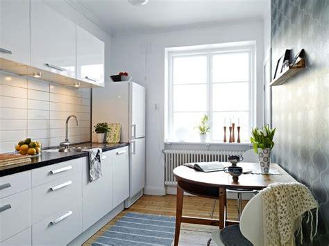 Cuisine Petit Espace Astuces by Am 233 Nager Une Cuisine 40 Id 233 Es Pour Le Design