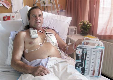 guy in hospital bed compressed air accident turns nz man into human balloon