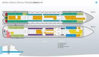 aidasol kabinen deck 6 deckspl 228 ne decksgrundrisse aidasol ansehen aida