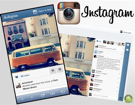 instagram mobile instagram mobile web recebe atualiza 199 195 o