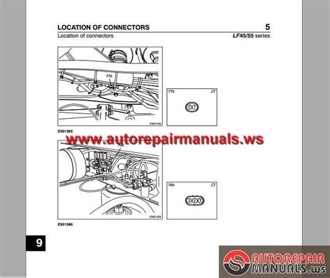 daf lf45 lf55 electrical wiring diagram auto repair