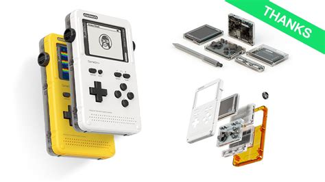 open source handheld console gameshell open source retro gaming stem portable