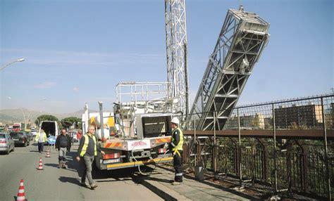 improvvisamente anticipata la dei lavori sul ponte