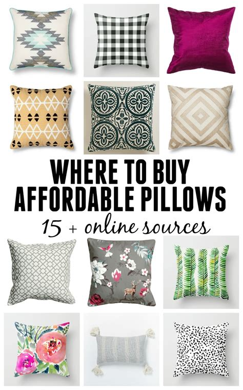 where to buy cushions where to buy affordable pillows 15 resources
