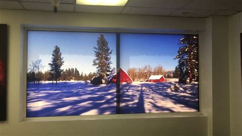digital window videos prolab digital windowscapes transforms any window into landscape backlit