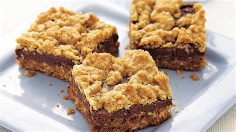 oatmeal bars with chocolate topping chocolate oat bars recipe from betty crocker