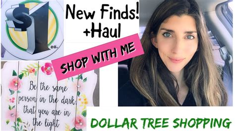 Tree Shop For The Person Who Has Everything by Dollar Tree Shop With Me Haul Vlog Style New Finds