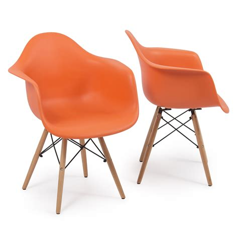 Armchair Legs by Set Of 2 Eames Dsw Style Arm Chair Armchair Legs Mid