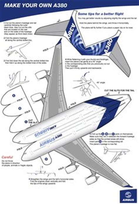 How To Make Your Own Paper Airplane - pin by 김병규 on 종이모형비행기 planes papercraft and