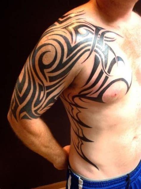 tattoo tribal en el brazo tatuaje de un tribal en el brazo pecho y costado