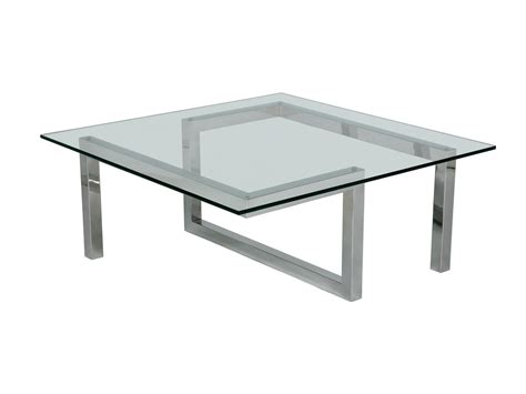 stainless steel and glass coffee tables coffee table