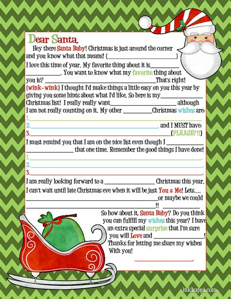free printable letter from santa for adults santa letter adult inkhappi