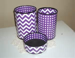 desk accessory set your choice of color pencil holder purple