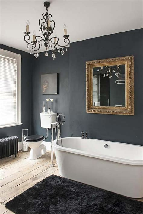 black white grey bathroom ideas des teintes sombres pour une salle de bain moderne