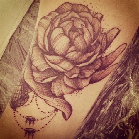peony tattoo black and grey 713 best tattoos flower plant and tree tattoos images