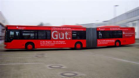 fennobed stuttgart sparkasse waiblingen buswerbung