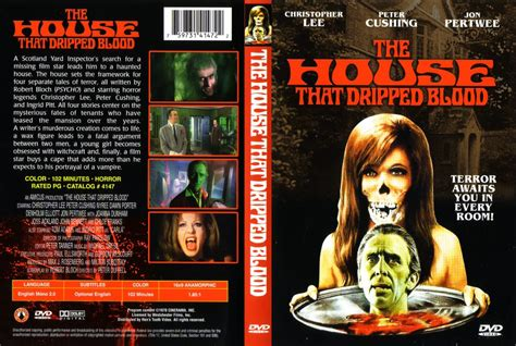 the house that dripped blood the house that dripped blood movie dvd scanned covers the house that dripped blood