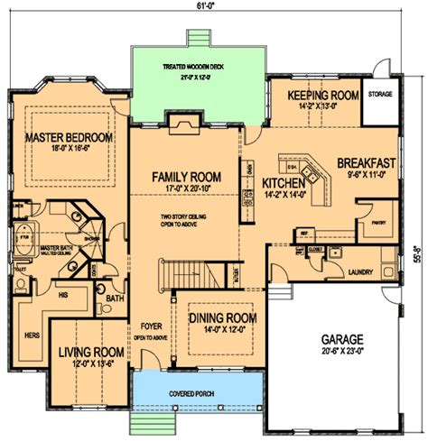 age in place house plans master down age in place home plan 30042rt