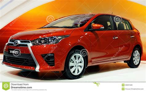 Stopl All New Yaris the all new toyota yaris editorial photo image 35631566