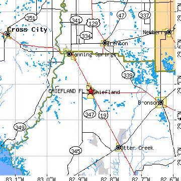 chiefland florida fl population data races housing