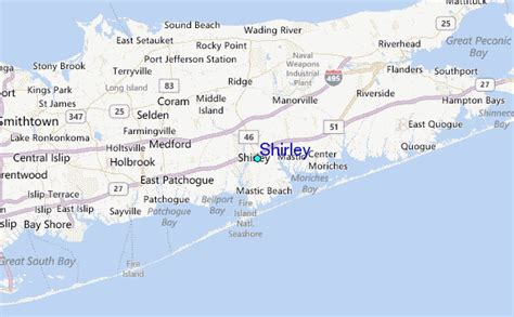 shirley location shirley tide station location guide