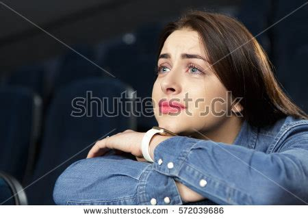 up film emotional crying movies low angle close gorgeous stock photo